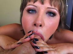 Katie St Ives Enjoys Sucking A Big Cock & Getting Facial