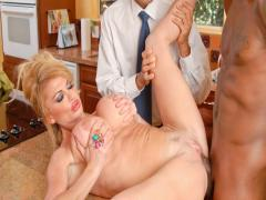 Ultra sexy Silvia Saint does a hot striptease for her fans