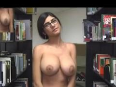 Mia Khalifa - Library Nudity