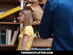 Tiny Teen Catarina Petrov Caught Shoplifting Then Punish Fucked