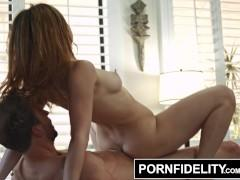 PORNFIDELITY - Leah Gotti's Pussy Gets A Massage and A Creampie