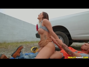 Reality Kings - Blonde wants sex at the construction site